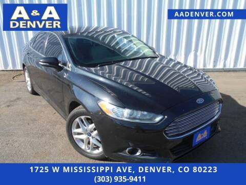 2013 Ford Fusion for sale at A & A AUTO LLC in Denver CO