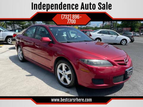 2007 Mazda MAZDA6 for sale at Independence Auto Sale in Bordentown NJ