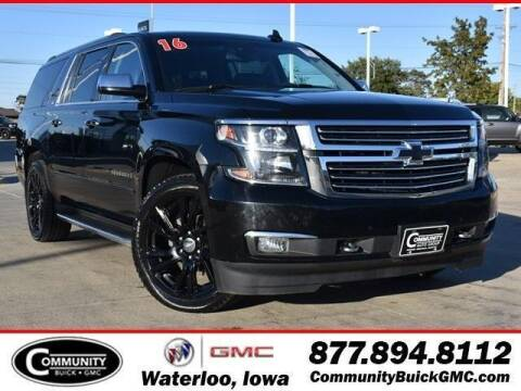 2016 Chevrolet Suburban for sale at Community Buick GMC in Waterloo IA