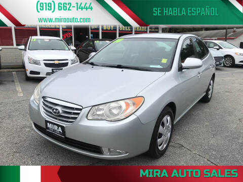 2010 Hyundai Elantra for sale at Mira Auto Sales in Raleigh NC