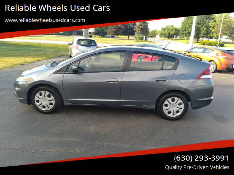 2012 Honda Insight for sale at Reliable Wheels Used Cars in West Chicago IL