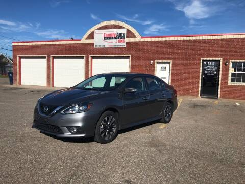 2016 Nissan Sentra for sale at Family Auto Finance OKC LLC in Oklahoma City OK
