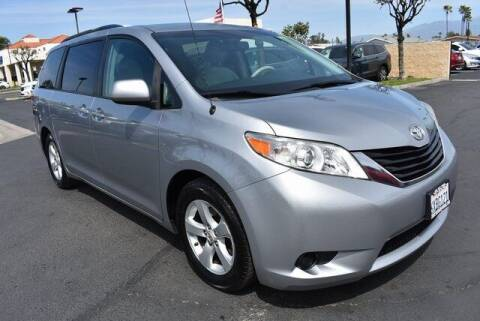 2012 Toyota Sienna for sale at DIAMOND VALLEY HONDA in Hemet CA