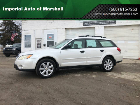 2008 Subaru Outback for sale at Imperial Auto of Marshall - Imperial Auto Of Slater in Slater MO