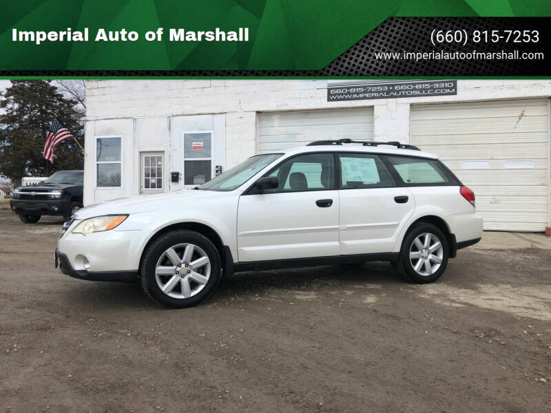 2008 Subaru Outback for sale at Imperial Auto of Slater in Slater MO