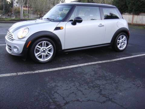 2011 MINI Cooper for sale at Western Auto Brokers in Lynnwood WA