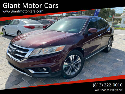 2015 Honda Crosstour for sale at Giant Motor Cars in Tampa FL