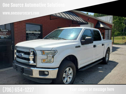 2015 Ford F-150 for sale at One Source Automotive Solutions in Braselton GA
