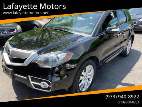 2012 Acura RDX for sale at Lafayette Motors in Lafayette NJ