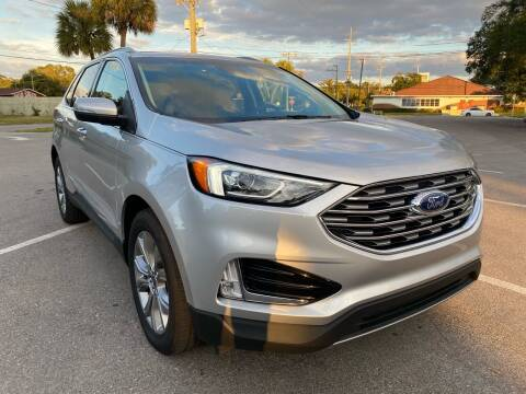 2019 Ford Edge for sale at LUXURY AUTO MALL in Tampa FL