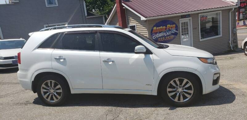 2012 Kia Sorento for sale at Auto Pro Auto Sales-797 Sabattus St. in Lewiston ME