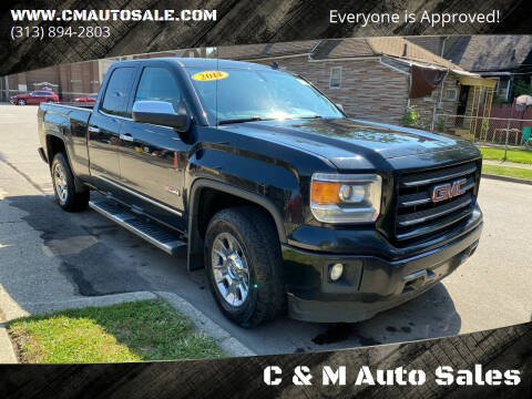 2014 GMC Sierra 1500 for sale at C & M Auto Sales in Detroit MI