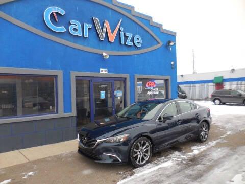 2017 Mazda MAZDA6 for sale at Carwize in Detroit MI
