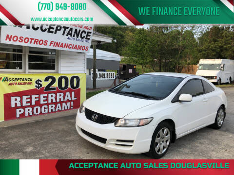 2010 Honda Civic for sale at Acceptance Auto Sales Douglasville in Douglasville GA
