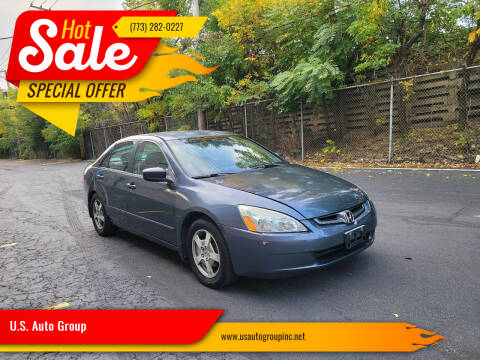 2005 Honda Accord for sale at U.S. Auto Group in Chicago IL