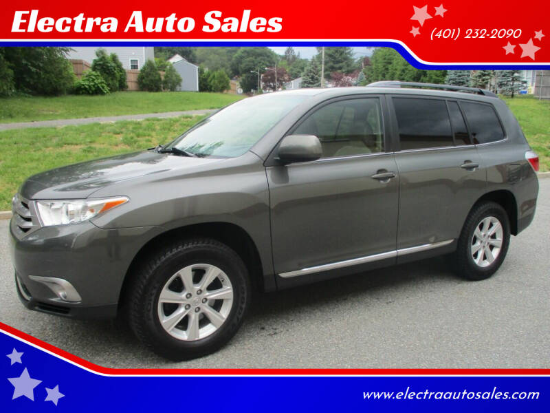 2011 Toyota Highlander for sale at Electra Auto Sales in Johnston RI