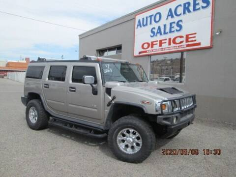 2003 HUMMER H2 for sale at Auto Acres in Billings MT