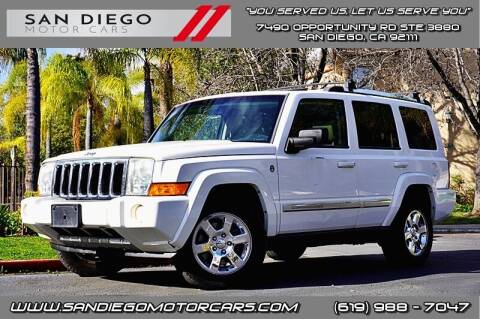 2007 Jeep Commander for sale at San Diego Motor Cars LLC in San Diego CA