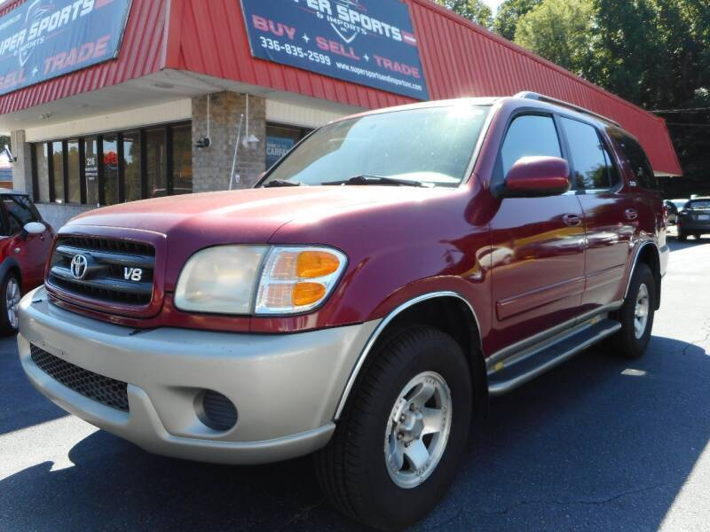 2001 Toyota Sequoia for sale at Super Sports & Imports in Jonesville NC