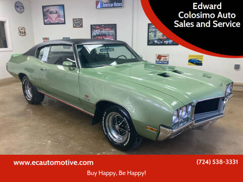 1970 Buick Gran Sport for sale at Edward Colosimo Auto Sales and Service in Evans City PA