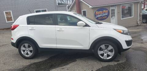 2012 Kia Sportage for sale at Auto Pro Auto Sales-797 Sabattus St. in Lewiston ME