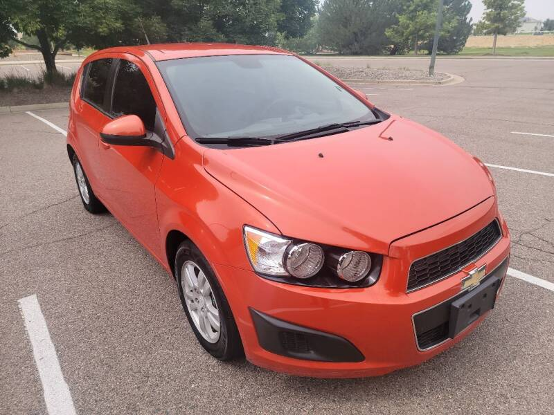 2012 Chevrolet Sonic for sale at Red Rock's Autos in Denver CO