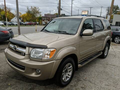 2005 Toyota Sequoia for sale at Richland Motors in Cleveland OH