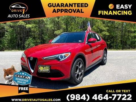 2018 Alfa Romeo Stelvio for sale at Drive 1 Auto Sales in Wake Forest NC
