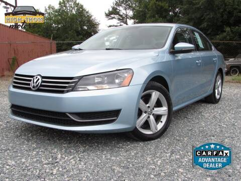 2012 Volkswagen Passat for sale at High-Thom Motors in Thomasville NC