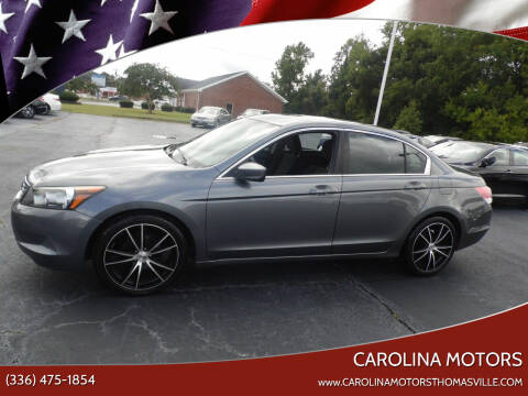 2010 Honda Accord for sale at CAROLINA MOTORS in Thomasville NC