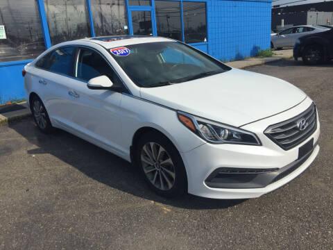 2017 Hyundai Sonata for sale at M-97 Auto Dealer in Roseville MI