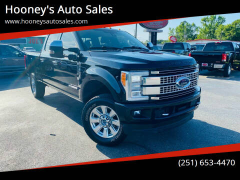 2017 Ford F-350 Super Duty for sale at Hooney's Auto Sales in Theodore AL