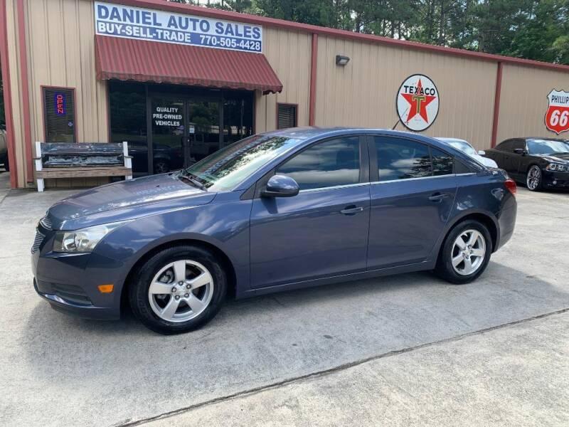 2014 Chevrolet Cruze for sale at Daniel Used Auto Sales in Dallas GA