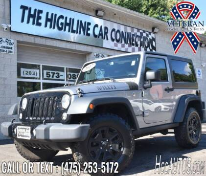 2017 Jeep Wrangler for sale at The Highline Car Connection in Waterbury CT