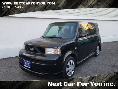 2005 Scion xB for sale at Next Car For You inc. in Brooklyn NY
