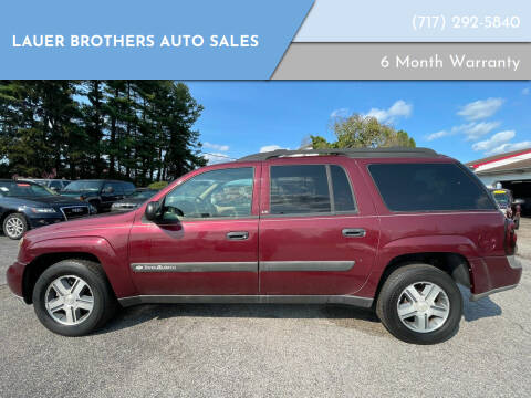 2004 Chevrolet TrailBlazer EXT for sale at LAUER BROTHERS AUTO SALES in Dover PA