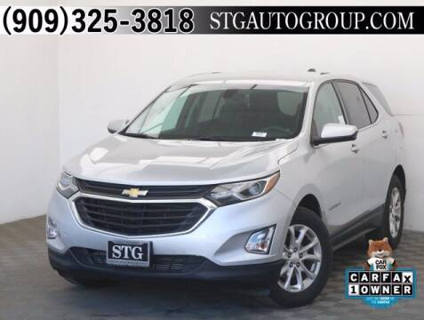 2018 Chevrolet Equinox for sale at STG Auto Group in Montclair CA