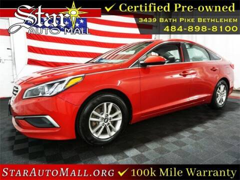 2017 Hyundai Sonata for sale at STAR AUTO MALL 512 in Bethlehem PA