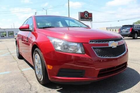 2012 Chevrolet Cruze for sale at B & B Car Co Inc. in Clinton Township MI