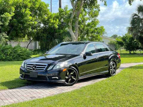 2011 Mercedes-Benz E-Class for sale at Citywide Auto Group LLC in Pompano Beach FL