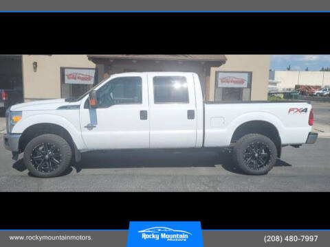 2016 Ford F-350 Super Duty for sale at Rocky Mountain Motors in Idaho Falls ID