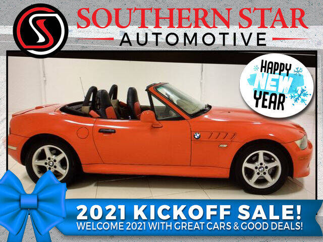 2001 BMW Z3 for sale at Southern Star Automotive, Inc. in Duluth GA