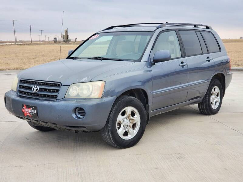 2003 Toyota Highlander for sale at Chihuahua Auto Sales in Perryton TX