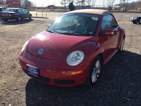 2010 Volkswagen New Beetle Convertible for sale at Complete Auto Credit in Moyock NC