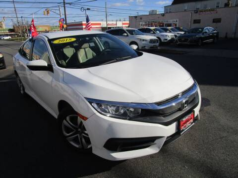 2018 Honda Civic for sale at Dina Auto Sales in Paterson NJ