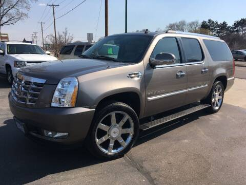 2011 Cadillac Escalade ESV for sale at Premier Motors LLC in Crystal MN