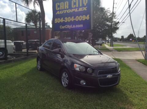 2014 Chevrolet Sonic for sale at Car City Autoplex in Metairie LA