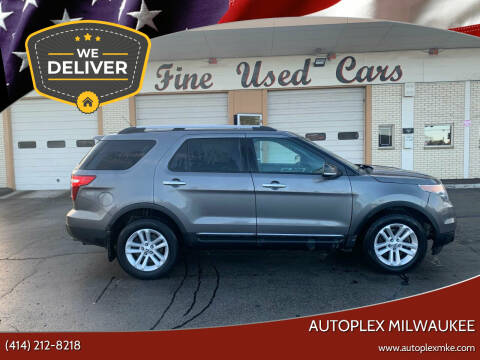 2013 Ford Explorer for sale at Autoplex Milwaukee in Milwaukee WI