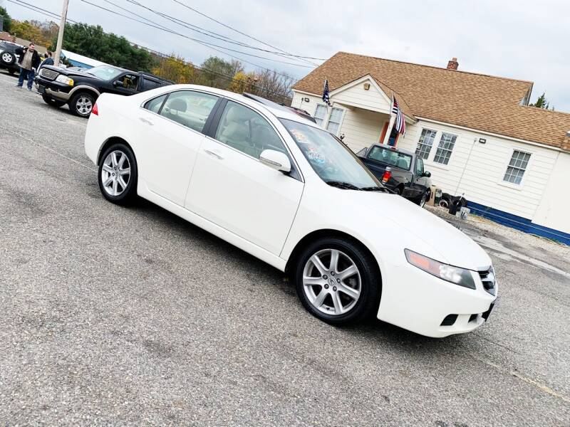 2005 Acura TSX for sale at New Wave Auto of Vineland in Vineland NJ