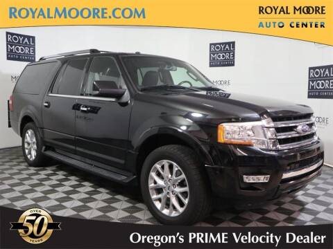 2016 Ford Expedition EL for sale at Royal Moore Custom Finance in Hillsboro OR
